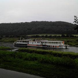 Die gute, alte Weserschiffart