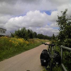 Gute Radwege in Richtung Dinkelsbühl