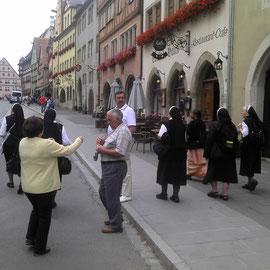 Rothenburg ist wohl immer gut besucht.