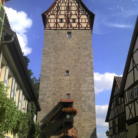 Stadtturm in Münnerstadt
