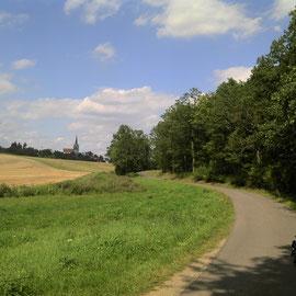 Unterwegs auf dem Main-Werra-Radweg