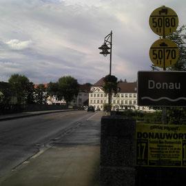 Ein wichtiges Zwischenziel: Die Donau