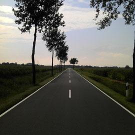 Go straight forward