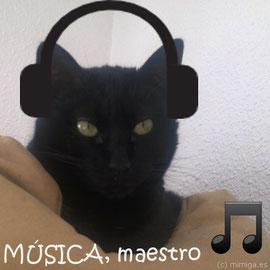 Ponle música clásica o chill out bajita... o prueba con música especial para gatos