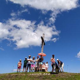 Wir werden vom Gipfel aus beobachtet