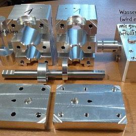 WilERK Prototyp Einzelteile