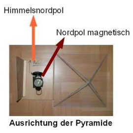 Pyramide Messvorrichtung für Nordsternausrichtung 04