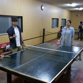 そして卓球個人戦&夫婦団体戦も盛り上がったね。