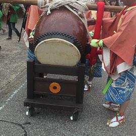 祭具 太鼓台車