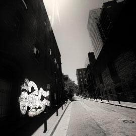 Photo digital noir et blanc , San Francisco By the way
