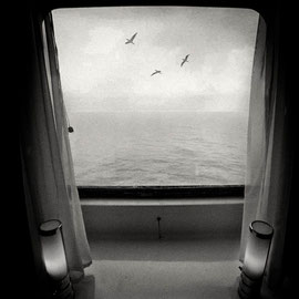 in the boat from Corsica Selection Art limited