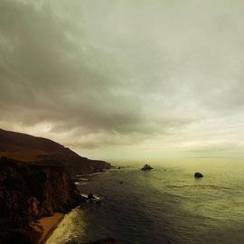 Landscape Photographie digital color Californie Big sur
