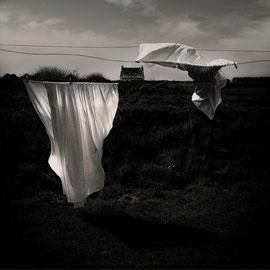 Vive le vent Bretagne Photo noir et blanc