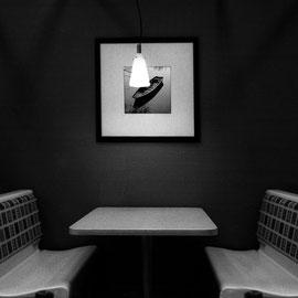 Noir et blanc argentique Leica M6 Subway Californie