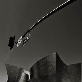 Los Angeles photo noir et blanc digital