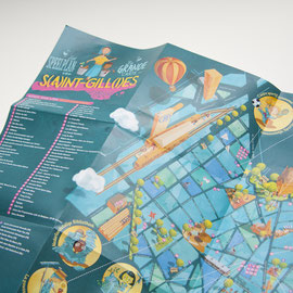 Carte Saint-Gilles