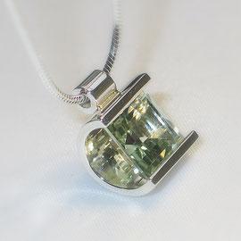 925er Silber mit Prasiolith