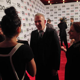 Had a small conversation with Jean Paul Gaultier. It was an honour!