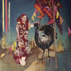 dreamland II, Öl auf Leinwand, 160 x 140 cm, 2014