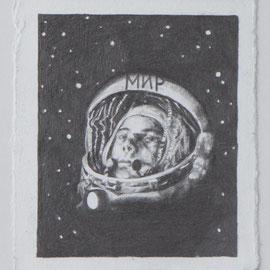 Jurij, Bleistift auf Bütte, 20 x 17 cm, 2015