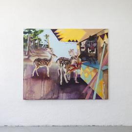 dreamland I, Öl auf Leinwand, 160 x 180 cm, 2014
