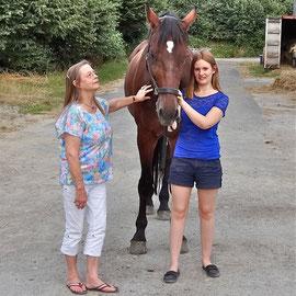 Rigo mit Anne und Lisa, 03.08.2013.