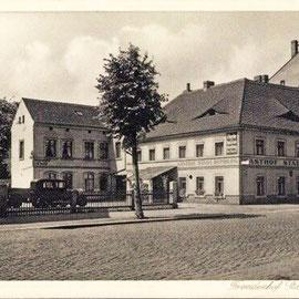 Zittau, Hotel Gasthof Stadt Rumburg 1935