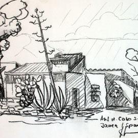 Reiseskizze Cabo San Antonio Javea