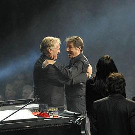 Pepe Lienhard mit Udo Jürgens