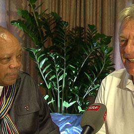 Quincy Jones und Pepe Lienhard