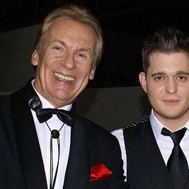 Pepe Lienhard mit Michael Bublé