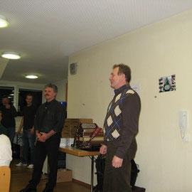 1. Vorsitzender, vom Patenverein Hemhofen, Gambel Karl