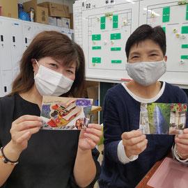 2020年6月21日 NPO法人CCVさまにて by鱒渕真希子