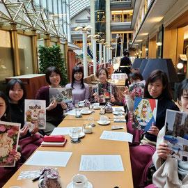 2019年1月 目黒雅叙園 東京営業系女子会の皆さま