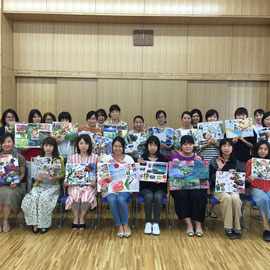 2018年8月 栃木県宇都宮市 河内地区市民センター「わくわく子育て講座」
