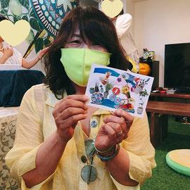 2021年7月17日 京都市カプリ食堂にて マルシェ「私をカプリに連れてって」byやましろるみ