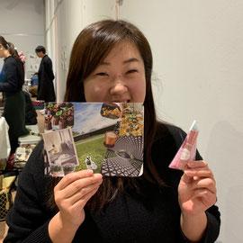 2020年1月12日 茨城県土浦市 土浦アロママーケット 講師:荒井典子・安達裕子