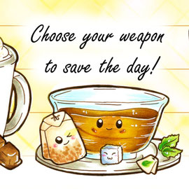 Tassenmotiv 2 - Save the day