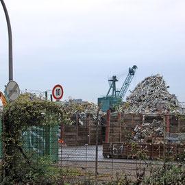 Deutzer Hafen von der Alfred-Schütte-Allee. Foto: Eva Rusch