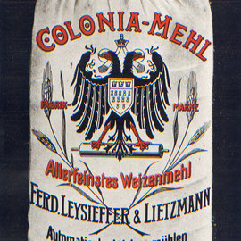 ein Sack Mehl aus Köln-Deutz.
