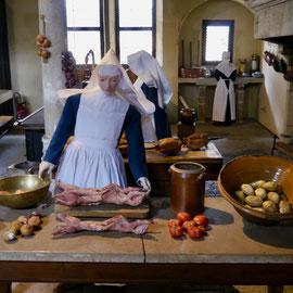 Frankreich, Beaune: Hotel Dieu, Museum