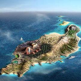 Lanzarote  Vulkane