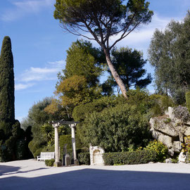 Frankreich, Cote d. Azur Park Villa Rothschild