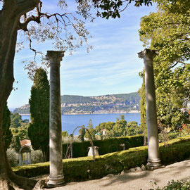 Frankreich, Cote d Azur Park Villa Rothschild