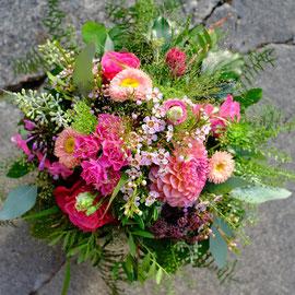 Blumenstrauss  pink/rosa