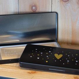 Milchschokolade Munz 100g in Geschenkbox Herz Fr. 12.90