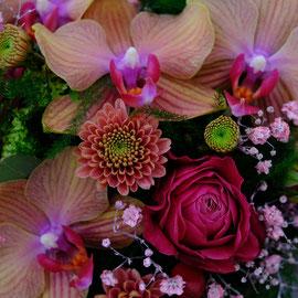 Blumenstrauss zum Valentinstag