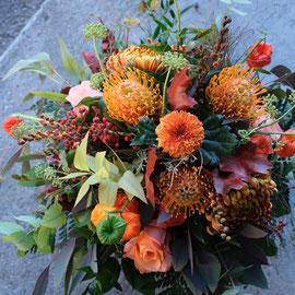 Herbststrauss orange