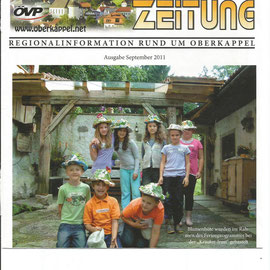 Irmi Kaiser - Oberkappler Zeitung - Ferienprogramm