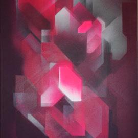 Kein Titel 02 - 120x60 cm - spraypaint on canvas - 2015 - SOLD